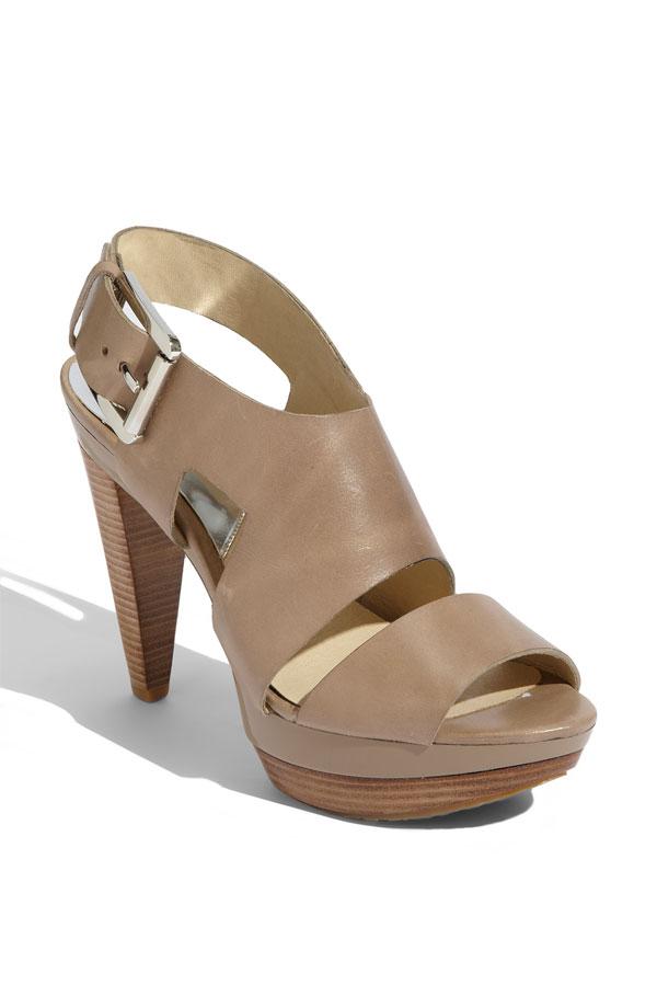 michael kors carla platform sandal lucky shoes